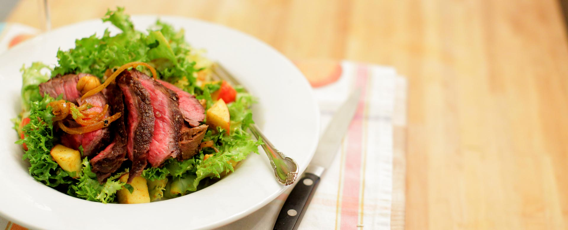 Steak-salad